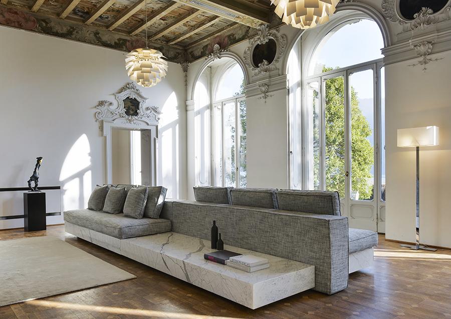 novità prodotti arredo in marmo sofa