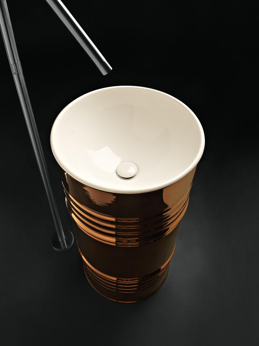 Barrel versione lavabo freestanding