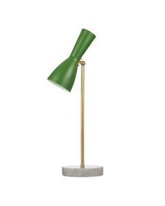 brass lamp marble base