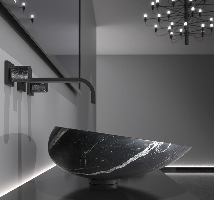 basin in marble